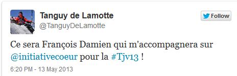 francois damiens et tanguy de lamotte twitter